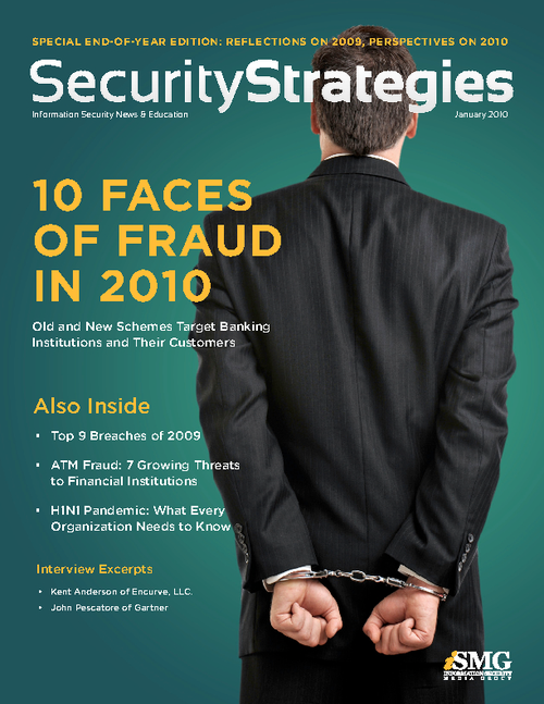 10 Faces of Fraud in 2010