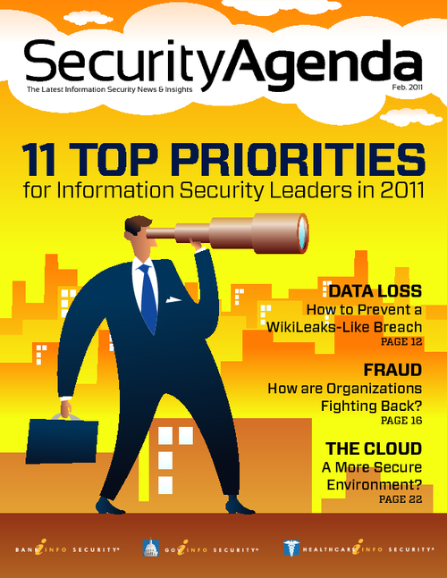 11 Top Priorities for Information Security Leaders in 2011