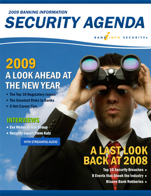 2009 Banking Information Security Agenda