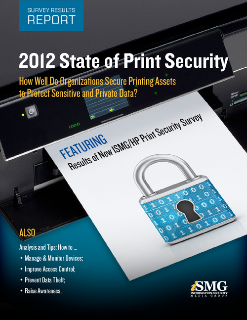 2012 State of Print Security