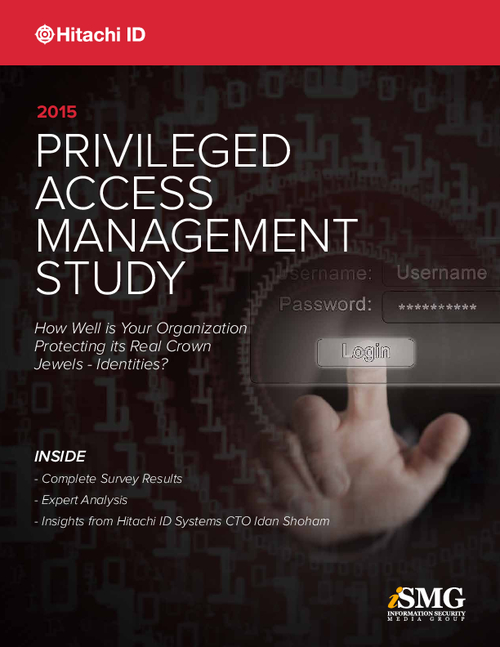 2015 Privileged Access Management Study