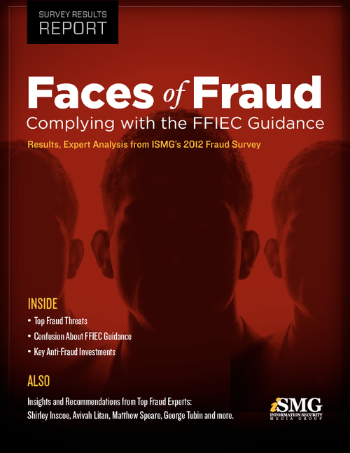 Faces of Fraud: Complying with the FFIEC Guidance