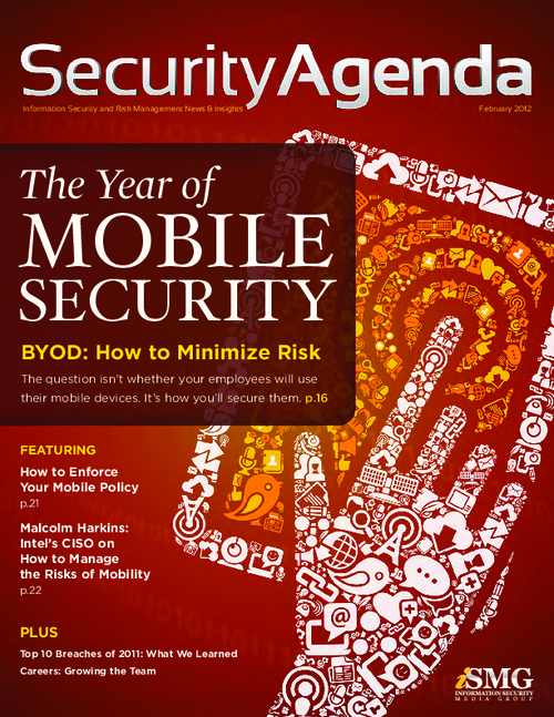 Security Agenda 2012: The Year of Mobile Security