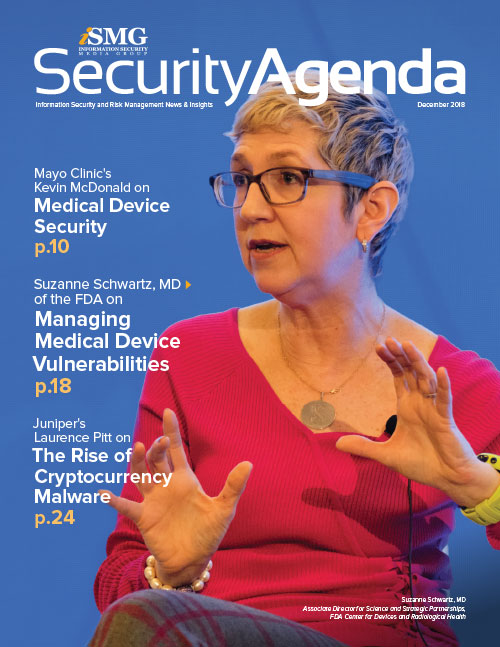 Security Agenda - Managing Medical Device Risks