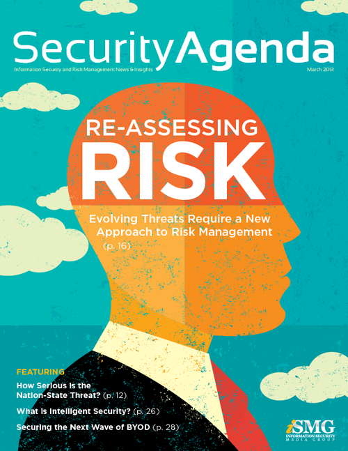 Security Agenda: Re-Assessing Risk - Evolving Threats Require a New Approach to Risk Management