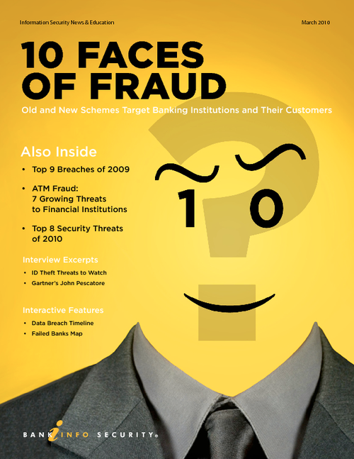 Ten Faces of Fraud in 2010 - RSA Conference Edition